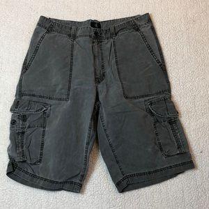 Calvin Klein gray cargo shorts